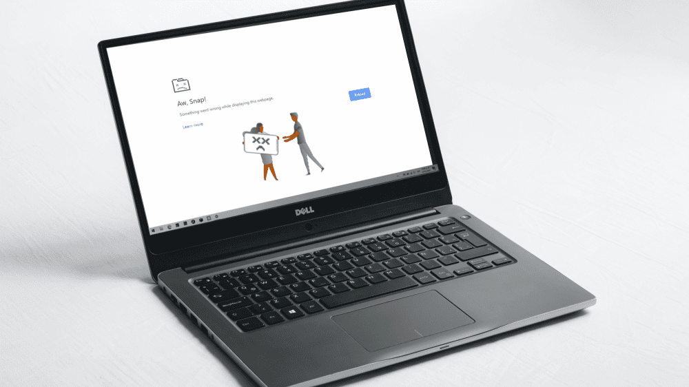 sustainable laptop needs repairing