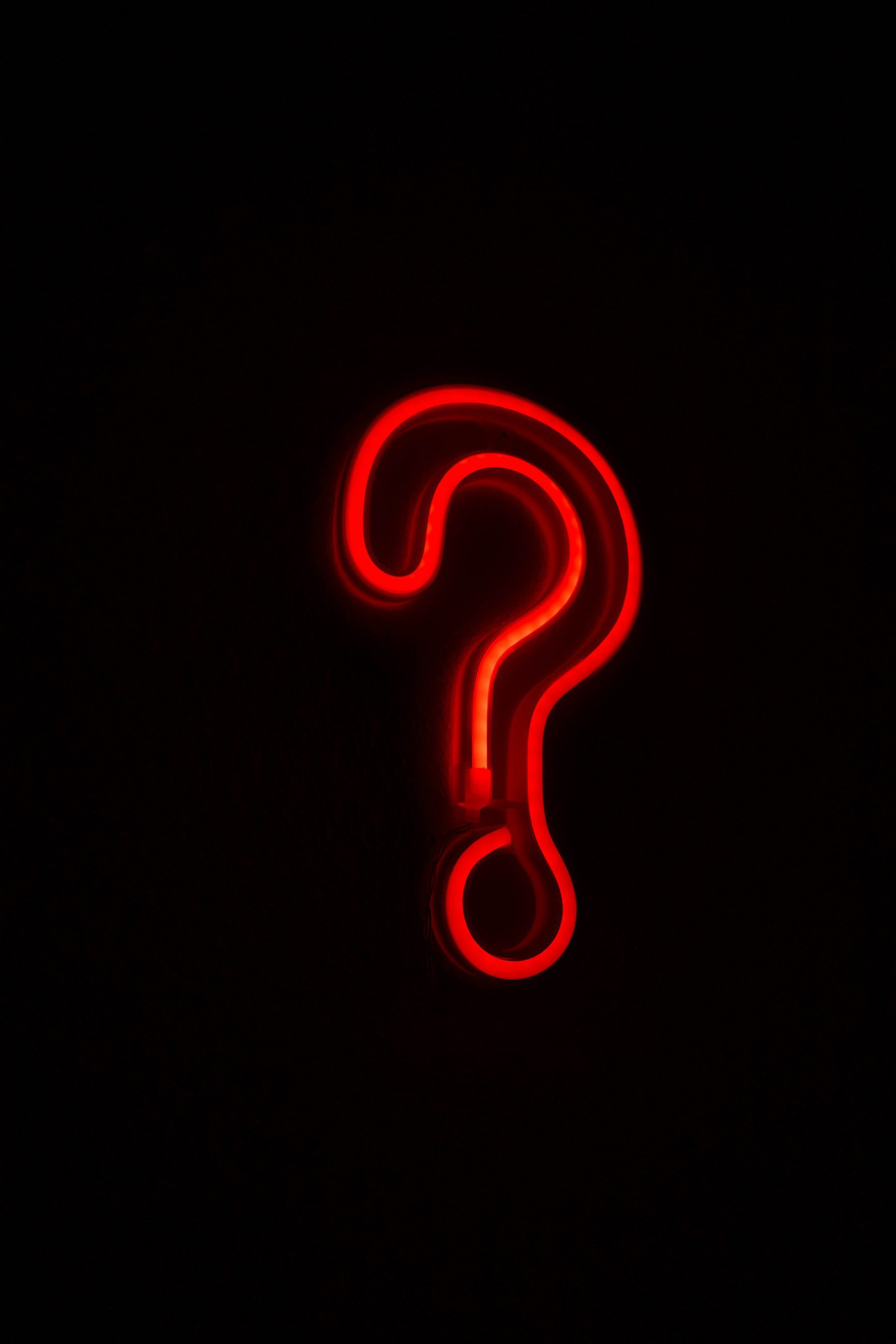 Digital Dilemma question mark