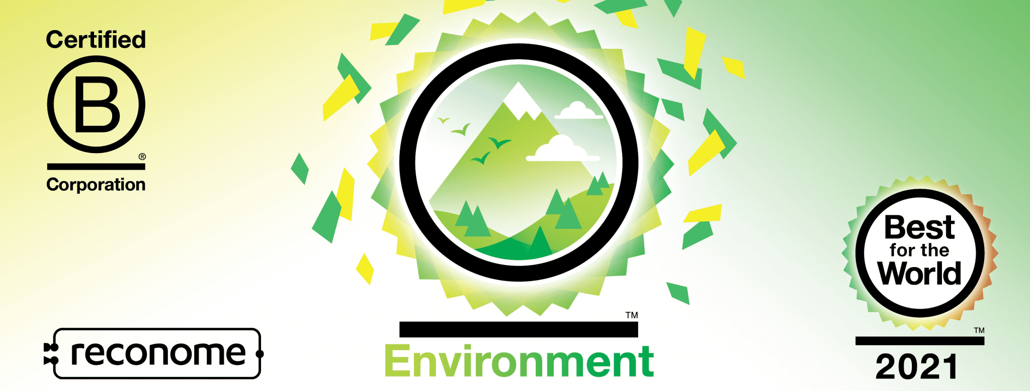 Reconome is Best For The World™ 2021 in the Environment impact area
