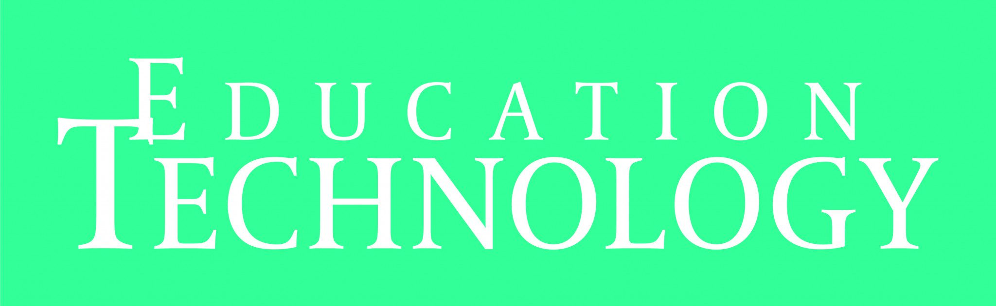 Green background for Education Technoogy